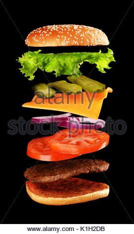 zutaten auf englisch zutaten f 252 r das kochen schwarz burger gegrillte frikadelle br 246 tchen zwiebel tomaten salat