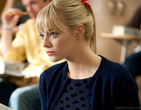 appealing hairstyles  emma stone