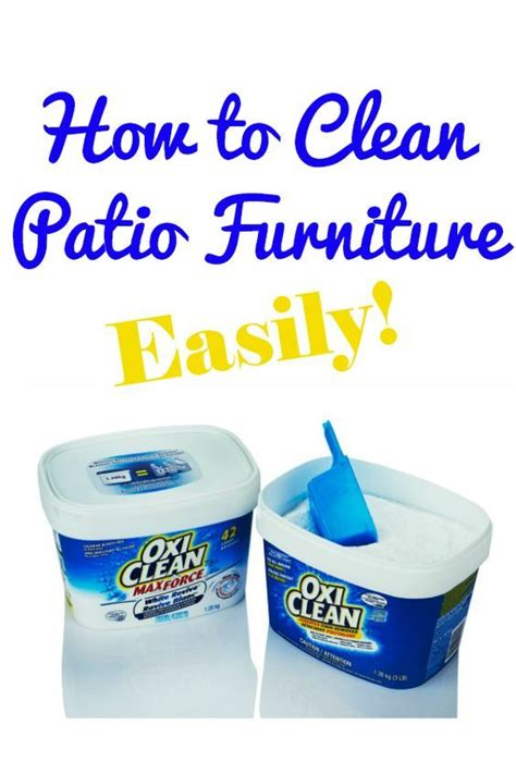 How To Clean Upholstery Stains by How To Clean Patio Furniture Stains Furniture And Patio