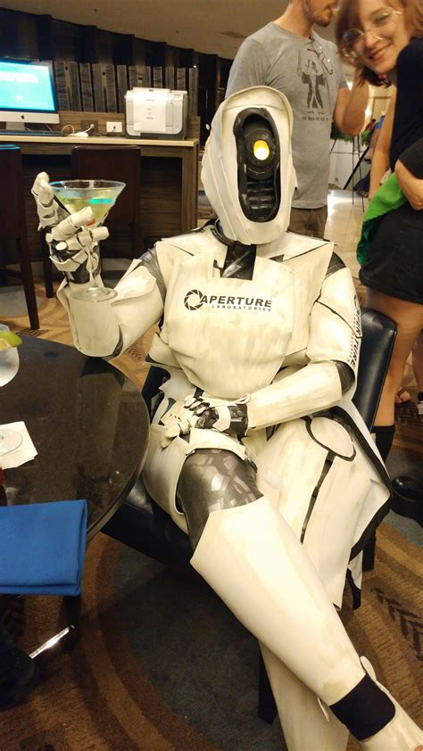 Glados From Portal Cosplay Album On Imgur