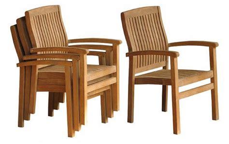 oxford teak stacking chairs grade  teak furniture