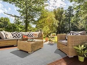 outdoor teppich bologna floordirektde With balkon teppich mit vinyl tapete kleister