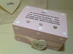 shabby personalised chic gift for the bride from mum With wedding gift from mom to daughter
