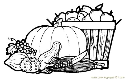 autumn fruits coloring page  autumn coloring pages coloringpagescom