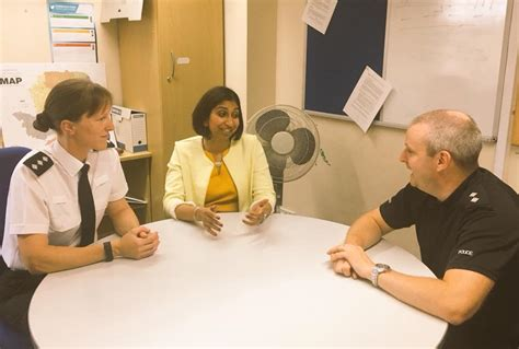 Suella Braverman MP - Good to catch up with Chief ...