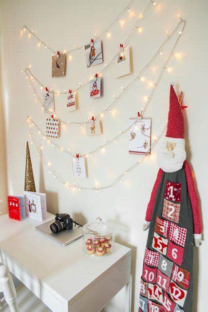 diy christmas card holder ideas   display