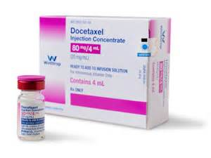 Generic Taxotere®: Docetaxel Injection Concentrate 80mg/4mL Docetaxel