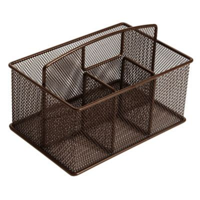 buy bamboo cutlery caddy from bed bath beyond