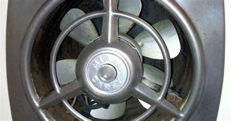 Restored vintage Miami Carey kitchen vent fan, unearthered