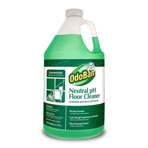 neutral floor cleaner odoban 1 gal neutral ph floor cleaner of 4 936162