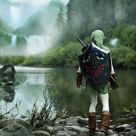 The Zelda Project A Cosplay Link To The Ocarina Of Time