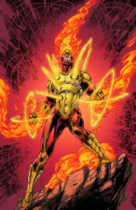 in color dc firestorm brett booth colors timothy brown legends