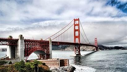 Francisco San Wallpapers Bridge Golden Gate California