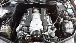 Mercedes Cls55 Amg Engine Painting Surge Tanks  Valve