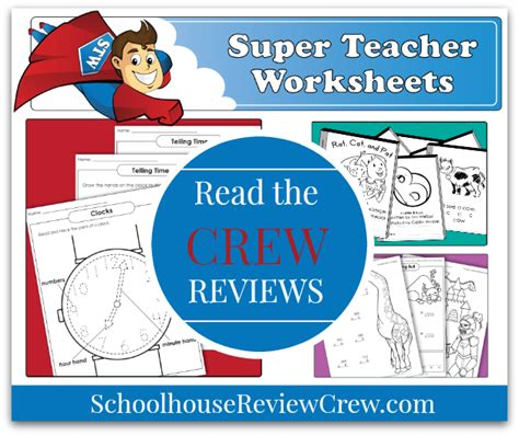 Printable Worksheets For Homeschool, Parents, And Teachers (super Teacher Worksheets Review