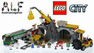 Lego City 4204 The Mine - Lego Speed Build Review - YouTube