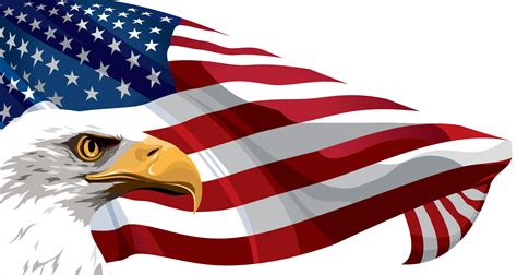 Library of american flag eagle jpg stock png files Clipart ...