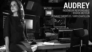 Renault F1 Viry Chatillon : audrey ing nieur responsable essais moteur youtube ~ Medecine-chirurgie-esthetiques.com Avis de Voitures