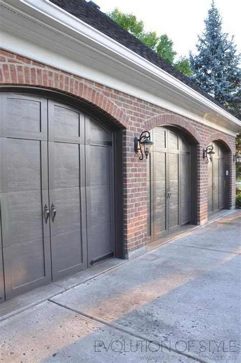 williams garage door exterior house painting before and after evolution of