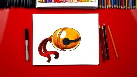 how to draw a jingle bell how to draw a realistic jingle bell art for kids hub