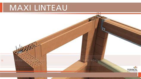 terreal structure pose de maxi linteau