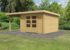 Gartenhaus 28 Mm Pultdach : woodfeeling gartenhaus pultdach bastrup 5 28 mm mit 2 m ~ Whattoseeinmadrid.com Haus und Dekorationen