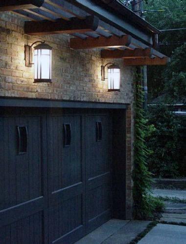 outdoor garage lighting ideas exterior illumination