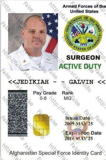 Us Army Id Card   Mungfali