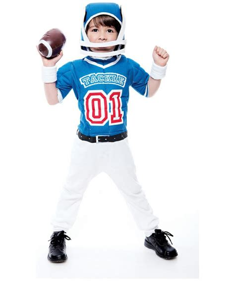 cheerleading voice over template 2t football player costume