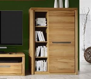 Buffet Haut Contemporain : meuble buffet haut 1 porte 4 niches moderne dinozo ~ Teatrodelosmanantiales.com Idées de Décoration