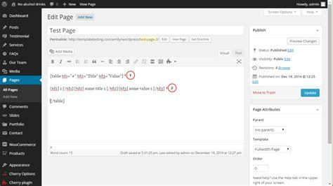 Wordpress Tabelle Einfügen. Wie Man Eine Tabelle Zum
