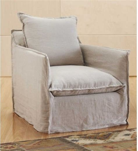 linen slipcover chair linen slipcovered chair sand contemporary armchairs