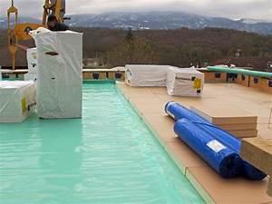 Lutilite du pare vapeur pour la toiture terrasse for Pare vapeur toiture terrasse