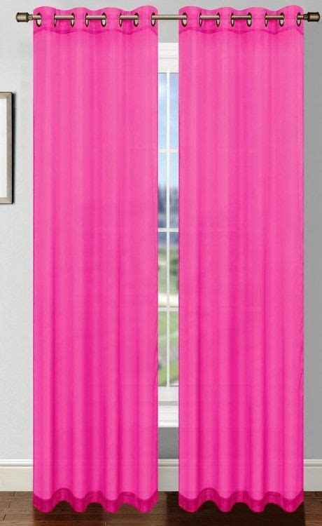 25 best ideas about pink curtains on pink