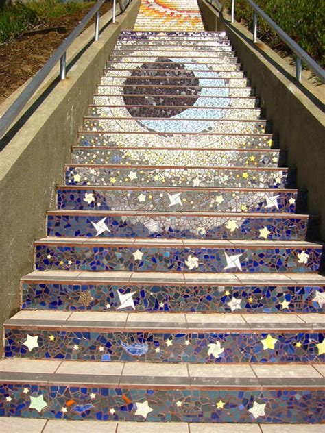 16th avenue tiled steps 16th avenue tiled step project 187 gagdaily news