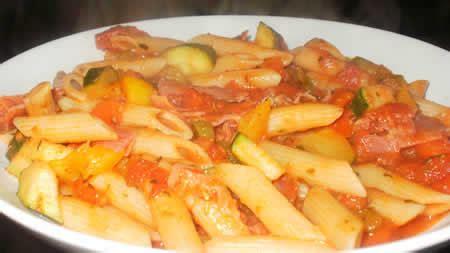 cuisiner le thon pate aux tomates jambon cookeo recette cookeo rapide