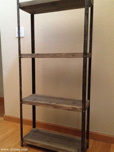 ikea bureau mike 14 99 ikea galvanized hyllis shelf given an industrial