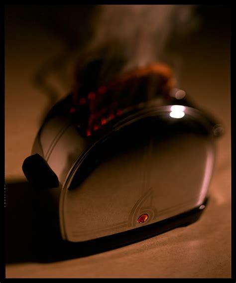 Burning Toaster - burning toast for timm eubanks photography