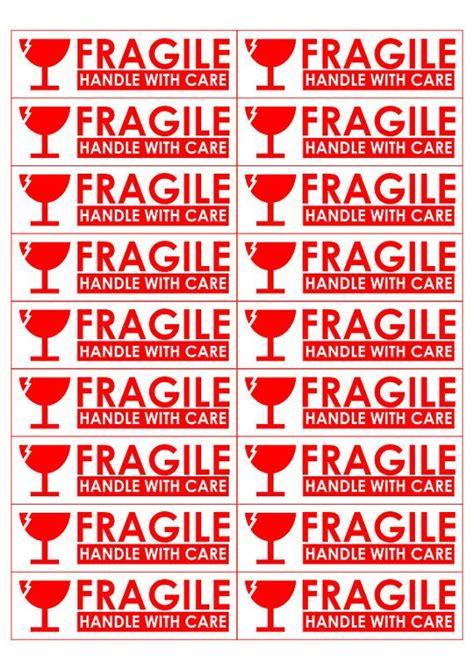 printable fragile labels   aashe