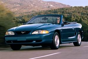 Ford Mustang Convertible V8 1995 specs: speed, power, carbon dioxide emissions, fuel economy