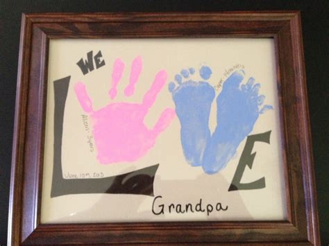 Father's Day Homemade Gifts For Grandpa