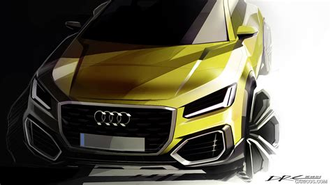 audi q2 design 2017 audi q2 design sketch wallpaper 75 1280x960