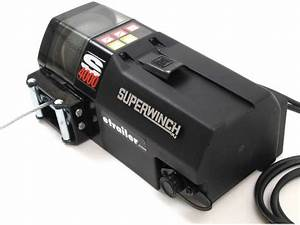 Superwinch S4000 High Performance Utility Winch  4k Superwinch Winches 1440200