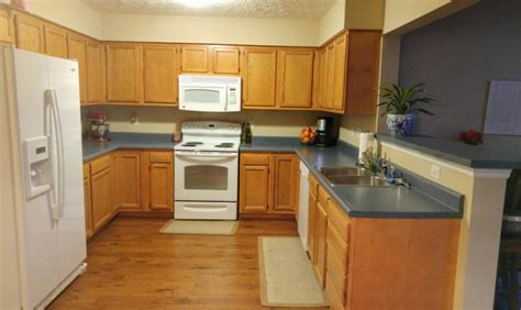 paint or stain oak kitchen cabinets kitchen remodel oak cabinets paint stain granite