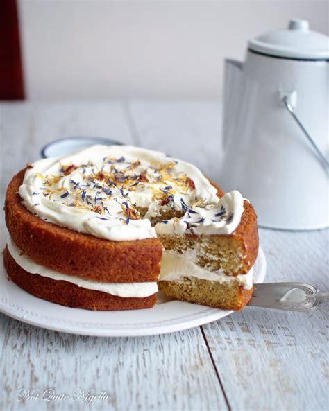 london fog earl grey tea cake    nigella cake