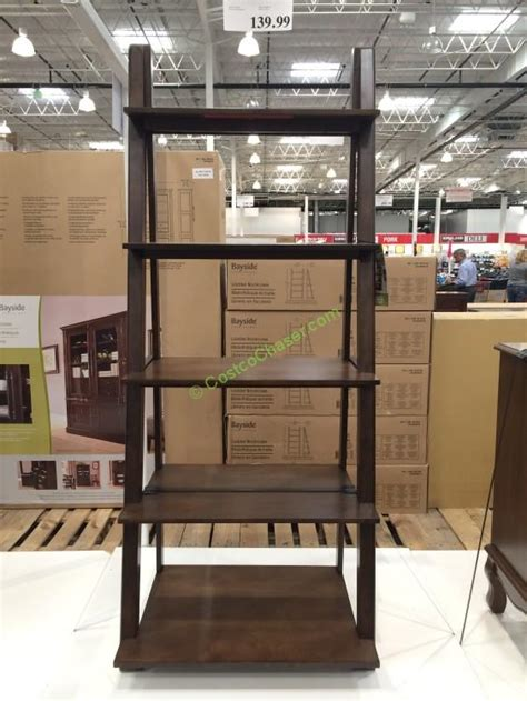 Costco Bayside Bookcase bayside furnishings ladder bookcase model karlbk n