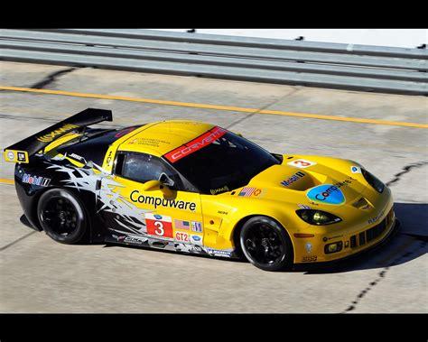 Second Generation Corvette C6R GT2 2010