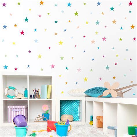 Wandtattoo Kinderzimmer Sterne by Wandtattoo Sterne Kinderzimmer Wandtattoo 90 Sterne Mit