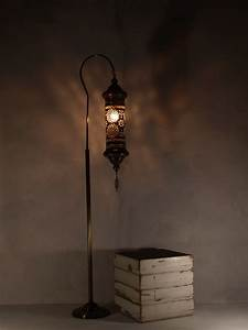 Hanging lantern floor lamp the dancing pixie for Floor lamp with hanging lantern