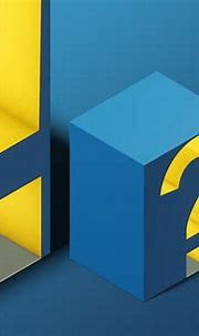 Cube 3d Psd Font - Isometric view 04 on Behance